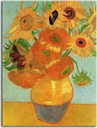 Vincent van Gogh - Still Life Vase with Twelve Sunflowers Obraz zs10390