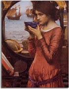 Reprodukcie John William Waterhouse - Destiny zs10398