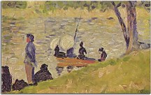 Obrazy Georges Seurat - Sunday at the Grand Jatte zs10426