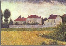 Obrazy Georges Seurat - Houses zs10428