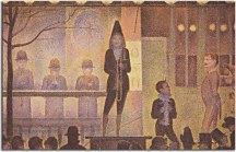 Obrazy Georges Seurat - Circus Sideshow zs10430
