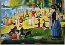 Georges Seurat Reprodukcia - Sunday Afternoon on the Island of La Grande Jatte zs10431