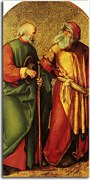 Jabach Altarpiece Piper and Drummer zs16540