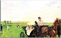 Reprodukcie Degas - A Carriage at the Races  zs16624