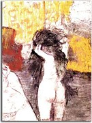 Obraz na stenu Degas - After the Bath 7  zs16631