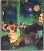 Reprodukcie Degas - At the Cafe des Ambassadeurs zs16635