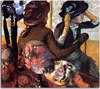 Edgar Degas - At the Milliner's zs16636
