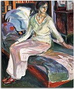 Model on the Couch Obraz Munch zs16672