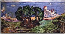 Obraz Munch Trees on the Shore zs16691