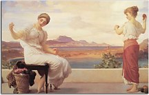 Reprodukcia Frederic Leighton - Winding the Skein zs16743
