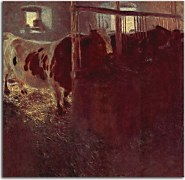 Cows in the barn zs16757