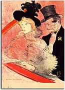 Obrazy Henri de Toulouse-Lautrec  - At the Concert zs16826