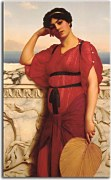 Obrazy John William Godward - A Classical Lady zs16877