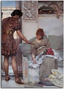 Obrazy od Lawrence Alma-Tadema - A Silent Greeting zs16950