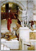 Obrazy Lawrence Alma-Tadema - After the Audience  zs16952