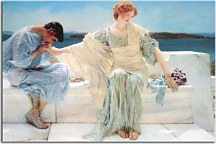 Reprodukcie Lawrence Alma-Tadema - Ask me no more zs16957