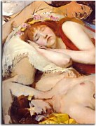 Lawrence Alma-Tadema - Exhausted Maenides after the Dance zs16967