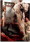 Reprodukcie Lawrence Alma-Tadema - Who is it zs16998