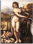 Obraz Leonardo da Vinci - Leda and the Swan zs17006