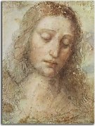 Reprodukcie Leonardo da Vinci - Study of Christ for the Last Supper zs17012