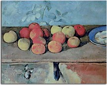 Obrazy Reprodukcie Paul Cézanne - Apples and Biscuits zs17022