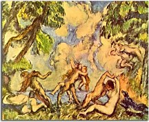 Obrazy Paul Cézanne - The Battle of Love zs17023