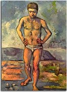 Reprodukcie Paul Cézanne - Bather zs17024