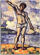 Obrazy Reprodukcie - Paul Cézanne - Bather zs17025