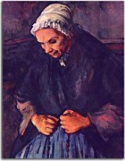 Reprodukcie Paul Cézanne - Old Woman with a Rosary zs17029
