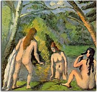 Reprodukcie Paul Cézanne - Three Bathers zs17032