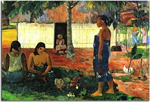 Paul Gauguin Reprodukcie  -  Why Are You Angry? zs17036