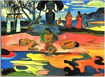 Reprodukcie Paul Gauguin - A day of no gods zs17039
