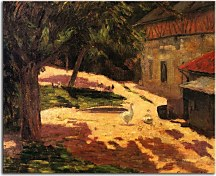 Obrazy Paul Gauguin - A Henhouse zs17040