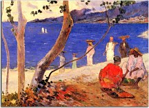 Reprodukcie Paul Gauguin - A seashore zs17042