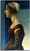 Botticelli obraz - Portrait of a young woman zs17301