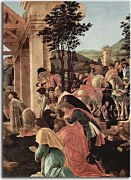 Botticelli obraz - Adoration of the kings zs17304