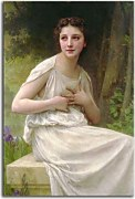 William-Adolphe Bouguereau -  Reflexion zs17310