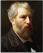 William-Adolphe Bouguereau - Autoportrait presente a M. Sage zs17327