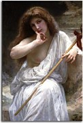 William-Adolphe Bouguereau - Bacchante zs17328 - obraz