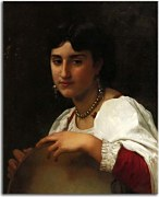 Italian Girl with Tambourine zs17373