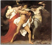 Orestes Pursued by the Furies zs17413
