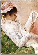 Obrazy Mary Cassatt - Woman Reading zs17530