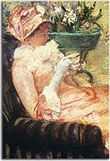 Reprodukcie Mary Cassatt - The Cup of Tea zs17531