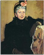 Portrait of an elderly lady zs17544