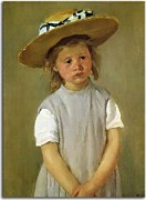 Child In A Straw Hat zs17548