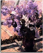 Lilacs in a Window zs17631