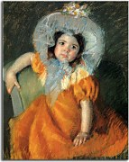 Child In Orange Dress zs17645
