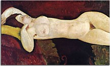 Obrazy Amedeo Modigliani - Le grand Nu zs17653