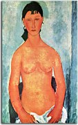 Obrazy Amedeo Modigliani - Standing nude zs17657