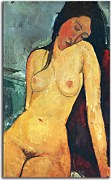 Seated female nude Obraz Modigliani zs17659